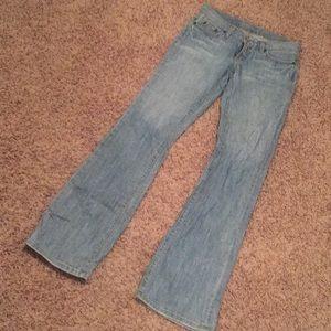 Sexy slimming Bebe denim jeans
